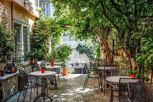 The most beautiful courtyards in Athens