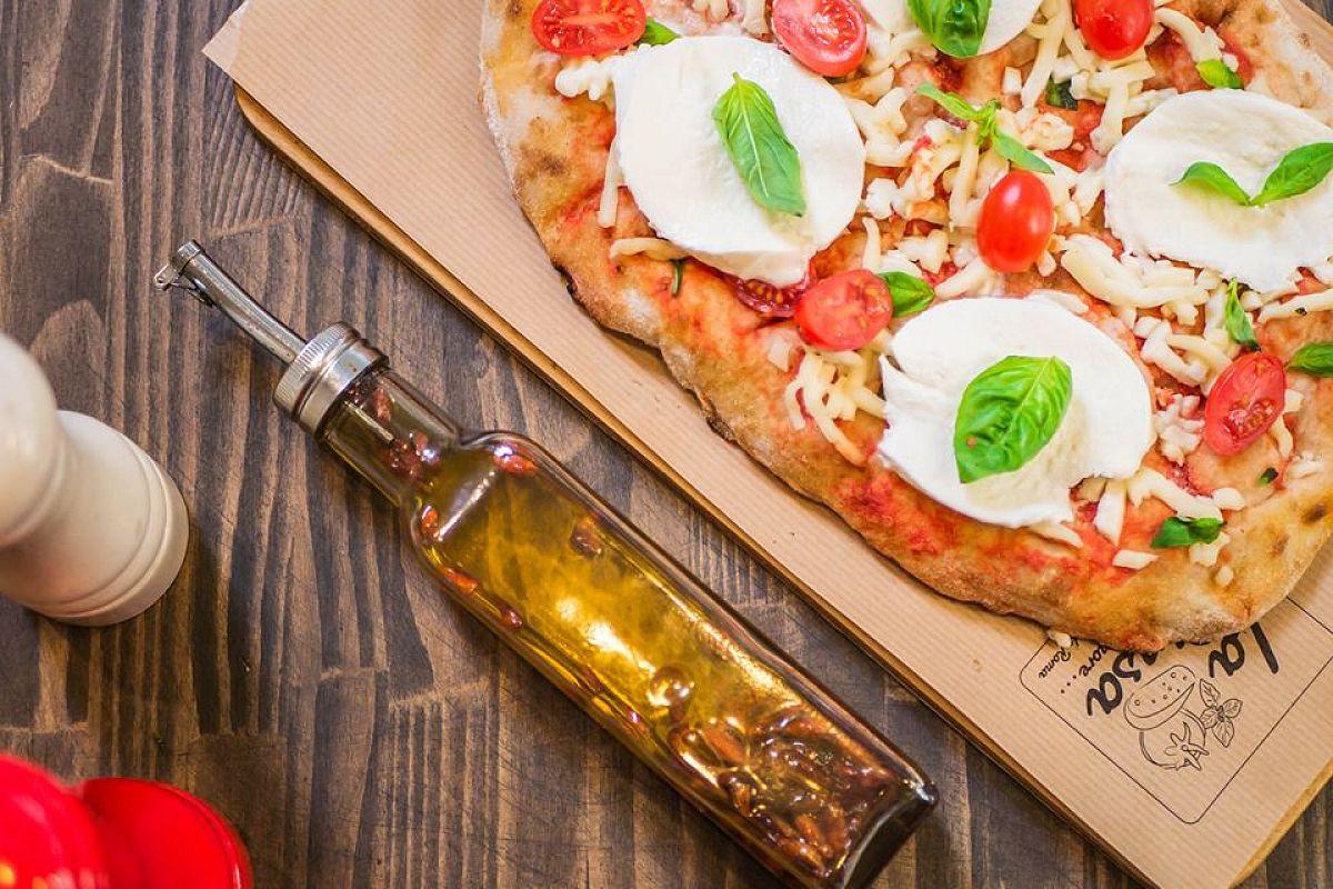 Για πίτσα στο χέρι στο La Pinsa